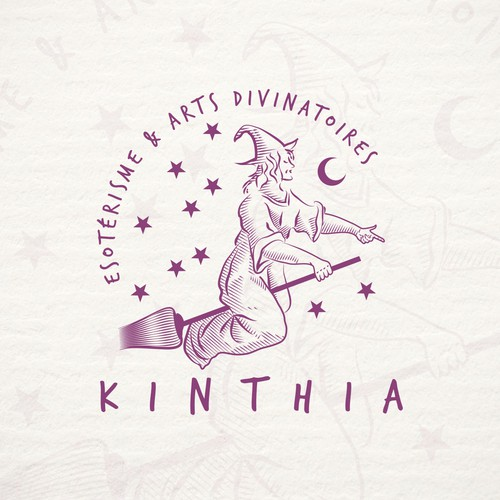 Logo for a website on divination and esotericism.