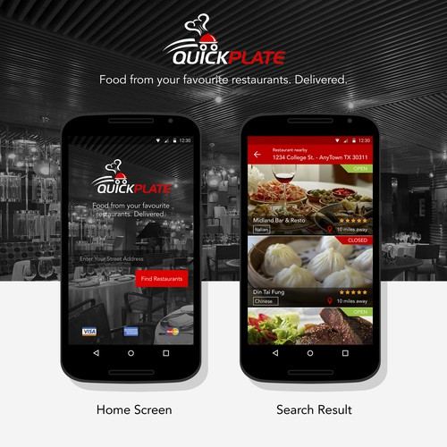 Quick Plate - Online Food Delivery