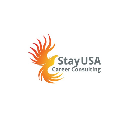 bold logo concept for Stay USA Career Consulting.