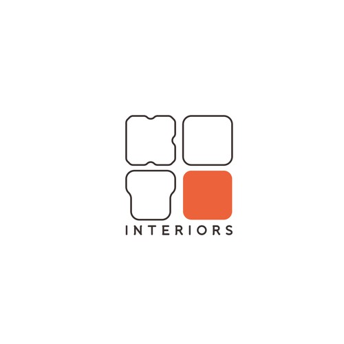 Logo for an interior company.