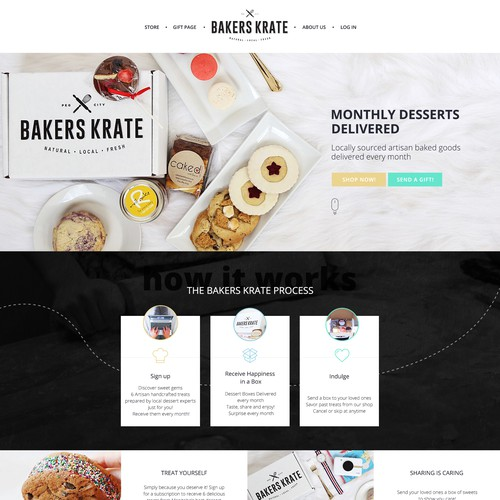 Bakers Krate web site