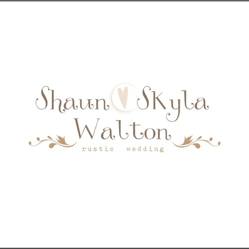 New logo wanted for Shaun and Skyla Walton