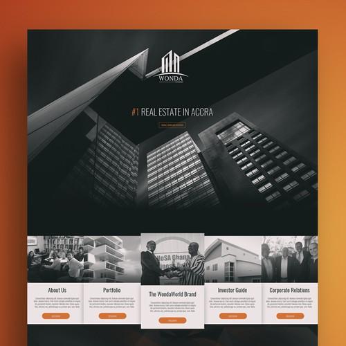 Wonda World Web Design