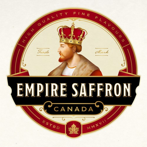 EMPIRE SAFFRON LOGO DESIGN