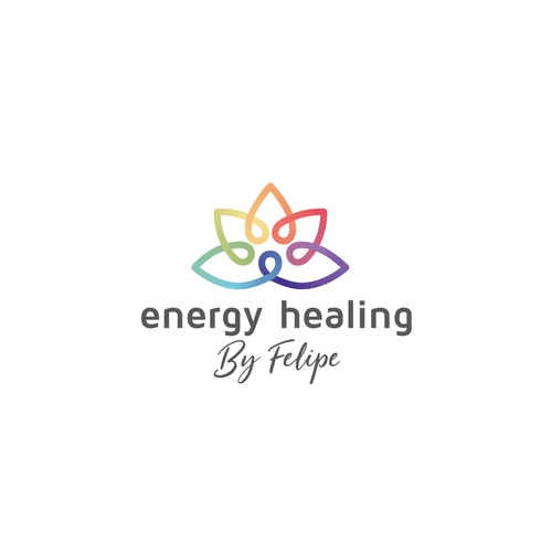 Awesome Energy Healing logo - Mix of Meditation, Chakras, Nature