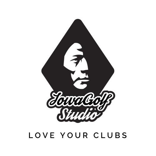 Logo concept for golf studio.