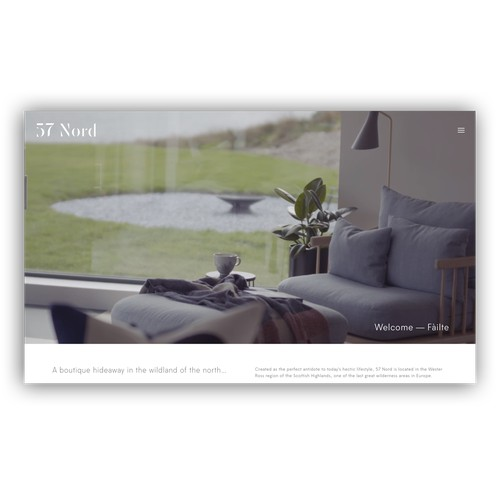 57 Nord | Squarespace Website
