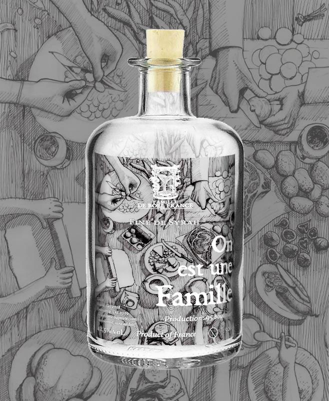 De Boel France - Labels for 4 wines & 1 spirit