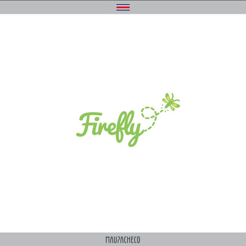 """Create a """"firefly"""" logo for a marketing business in Silicon Valley."""