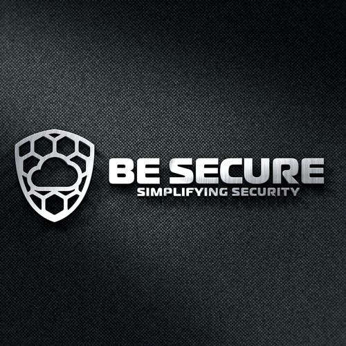 Logo for security company