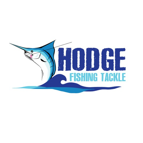 Create the next logo for HODGE FISHING TACKLE