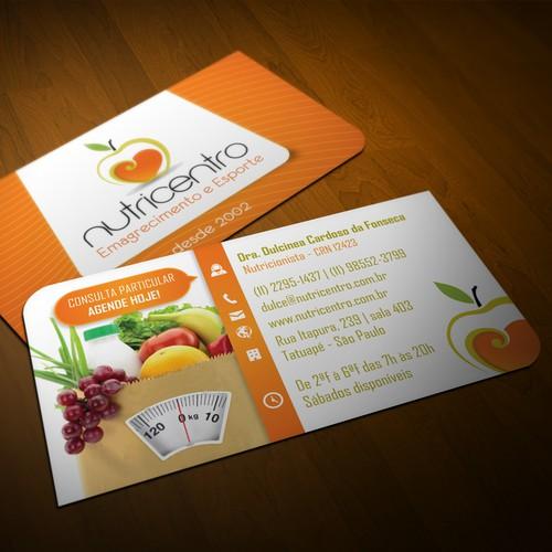 NutriCentro | Cartão de Visita