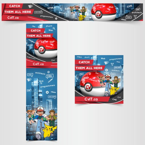 CvIT.ca banner - Pokemon theme