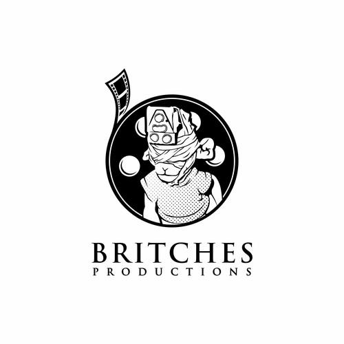 Britches Productions Logo Design