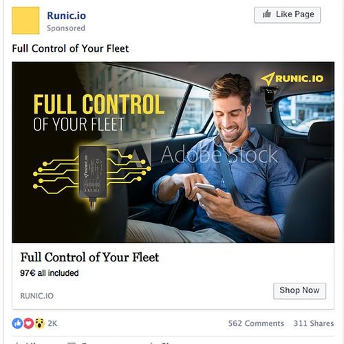 Facebook Ads Banner - Runic.io