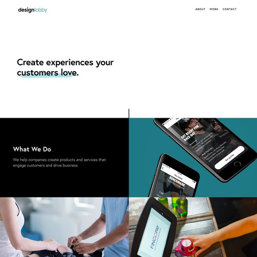 Design Lobby | Website Design and Development for an Experience Design Consultancy