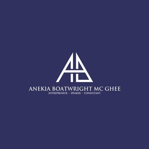 logo for anekia boatwright mc ghee