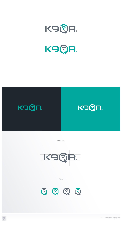 Create a logo for K9QR!