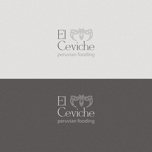 Logo for a high end Peruvian fooding restaurant