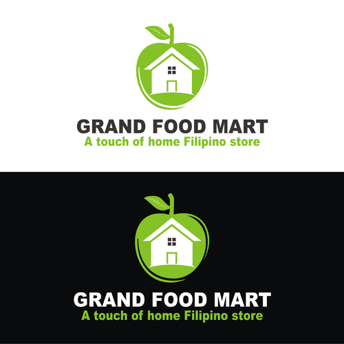 Help Grand Food Mart with a new logo
