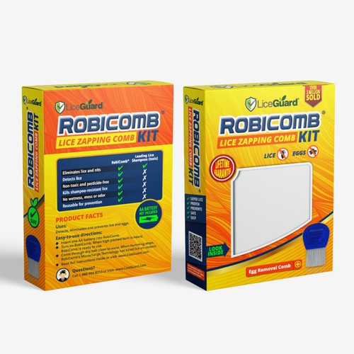 ROBICOMB KIT Box