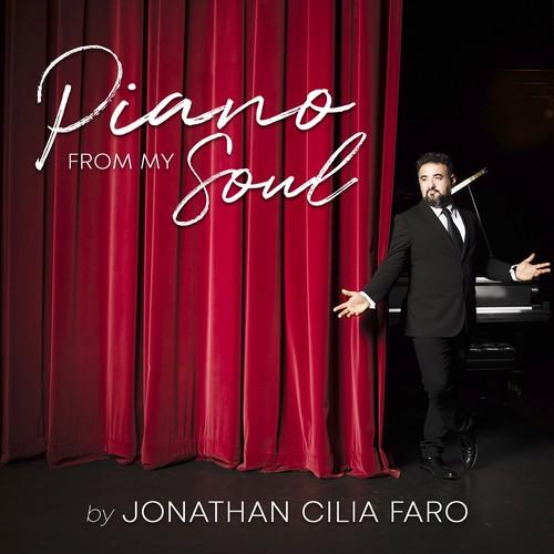 CD cover for artist Jonathan Cilia Faro