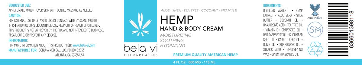 Hand and body moisturizing cream