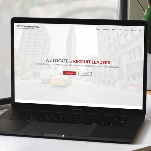 RedStone Partners Website Redesign