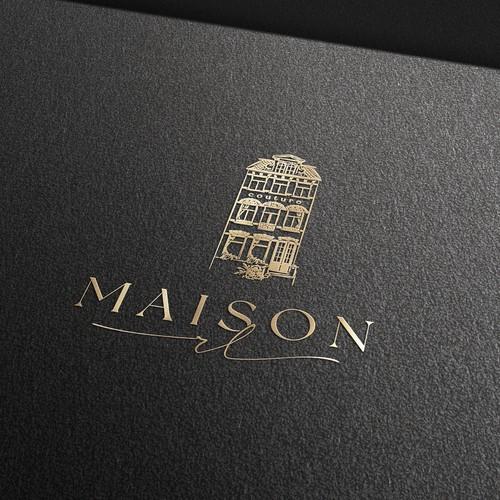House logo design for Maison RL