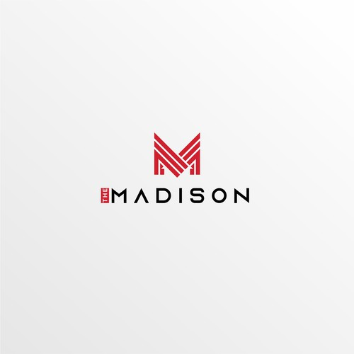 clever logo with negative space