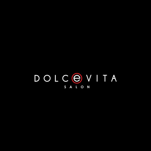 Create an elegant, sophisticated yet simple logo for Salon Dolce Vita