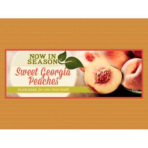 Georgia Peach Council needs a new banner ad