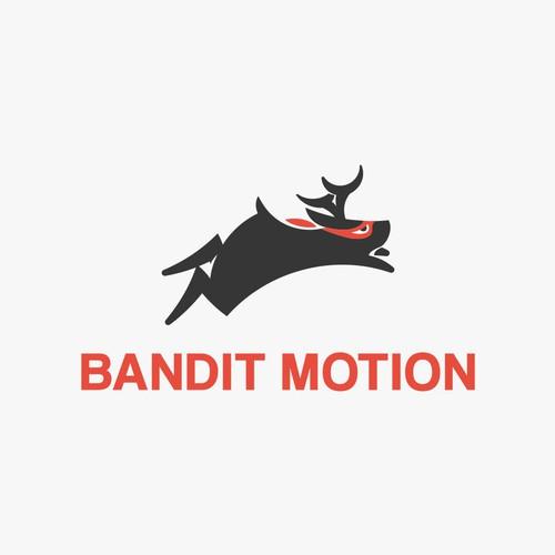 Logo concept for bandit motion