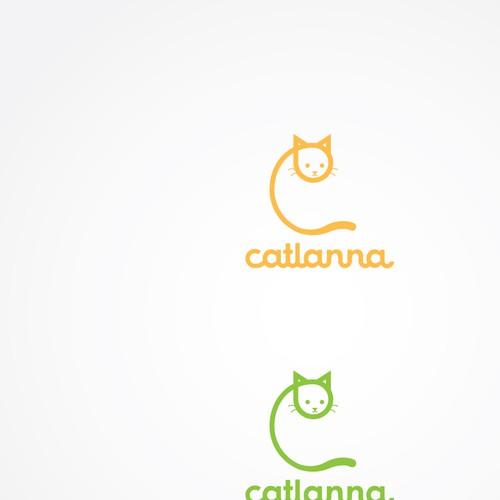 Minimalist/ geometric cat logo concept for behavior consulting service