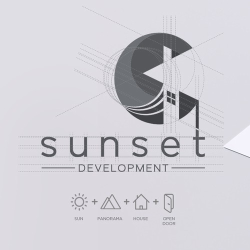Logo Concept: Real Estate Developer