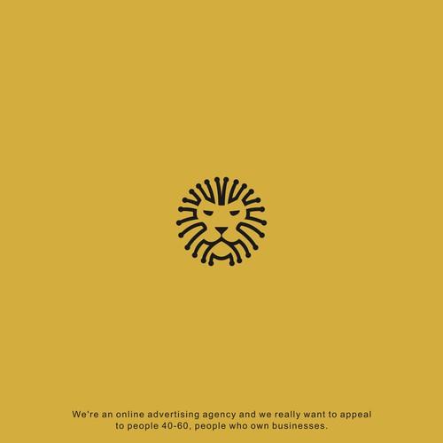logo lion internet
