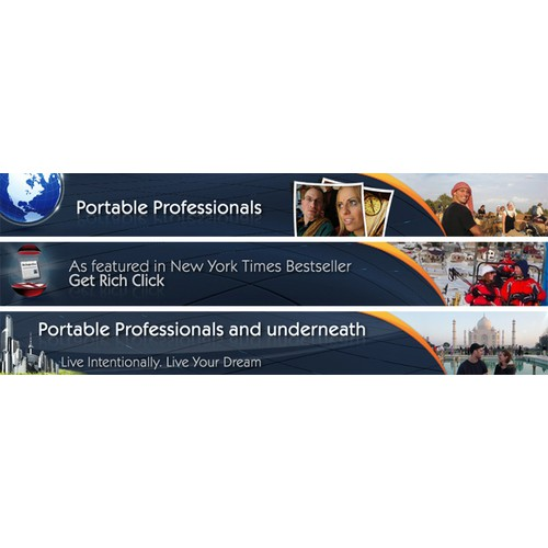 Help Portable Professionals with a new design