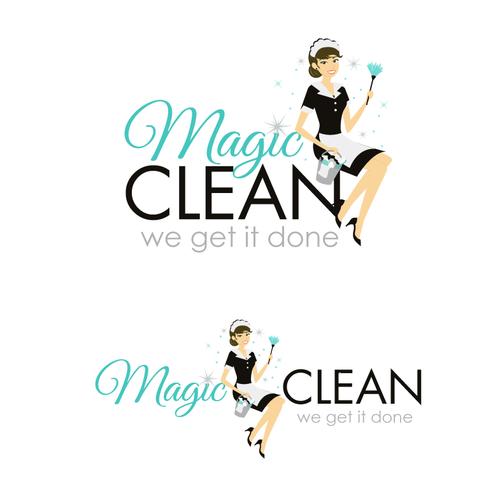 Megic Clean needs a new logo