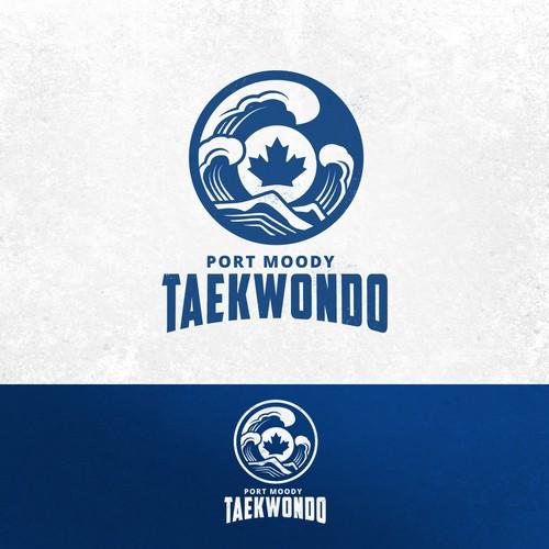 Taekwondo club logo