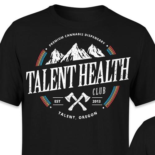 Tshirt design - Talent Health