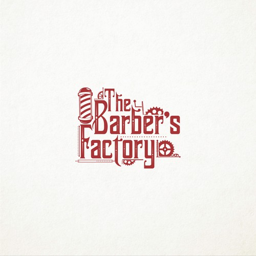 barber logo concept