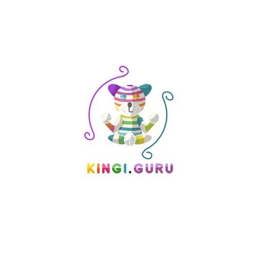 Cat guru mascot