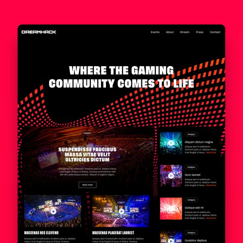 Dreamhack Website