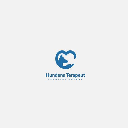 "Concept de logo "" Hundens Terapeut """