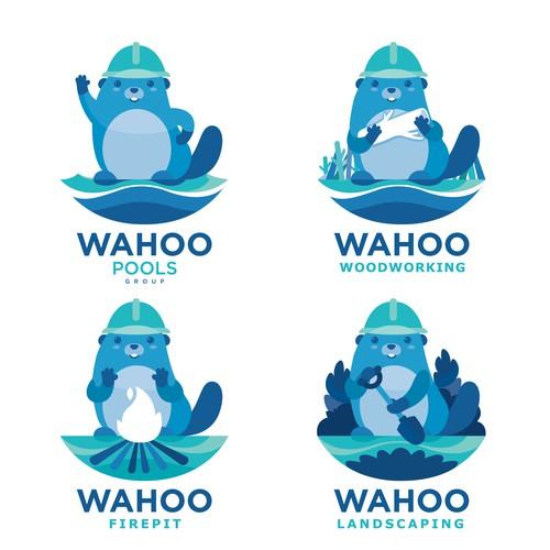 Mascot design for Pool Maker Company