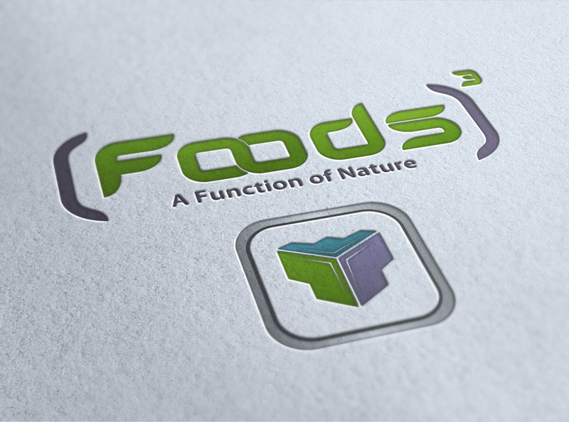 Create the next logo for (Foods)³