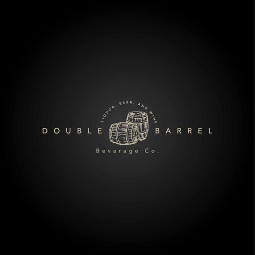 Logo concept for Double Barrel