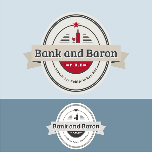 New logo wanted for Bank and Baron p/u/b