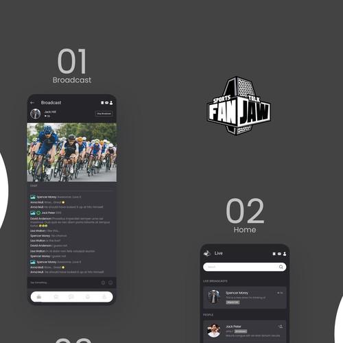 Sports App theme