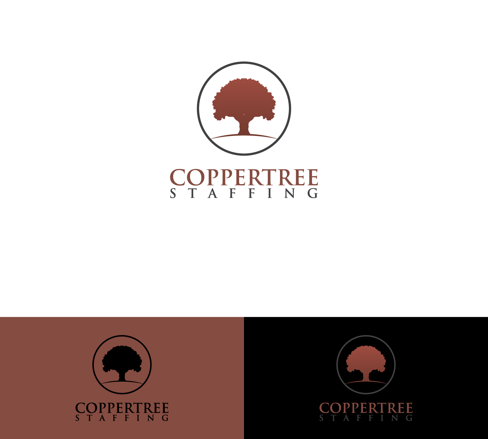 Create a new logo for an IT Staffing firm - Coppertree Staffing